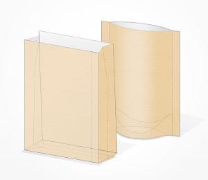 Paper laminated bag