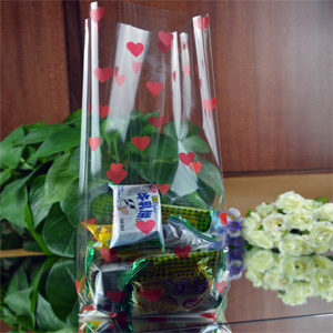 clear polypropylene bag